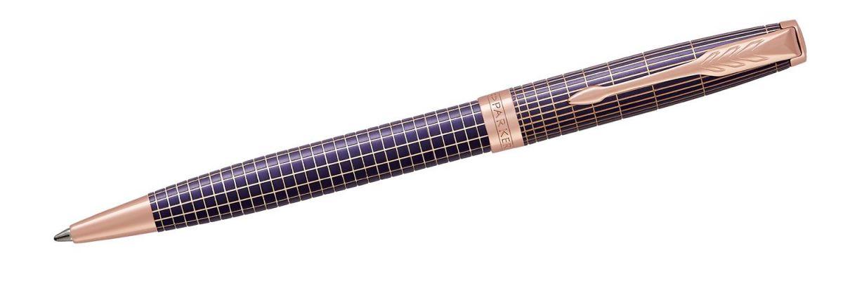 Długopis Parker Sonnet Premium Chiselled Purple PGT