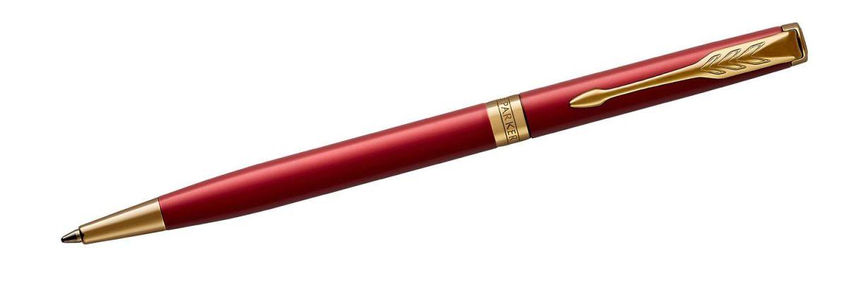 Długopis Parker Sonnet Red Lacquer GT Slim