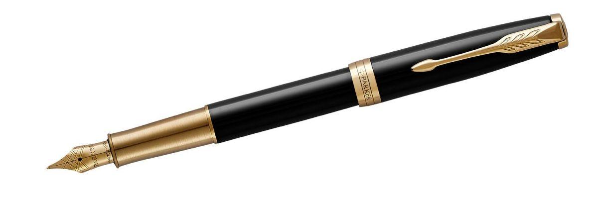 Pióro wieczne Parker Sonnet Premium Black Lacquer GT